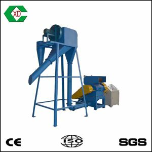 Xinda Csj-400c Rubber Crusher Waste Tyre Recycling Machine Fiber Separator pictures & photos