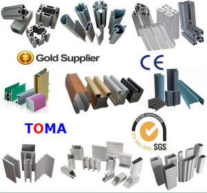 Professional Supplier for Top Quality Aluminum Profile Used on Aluminium Window/ Door and Shutter (TMAP0621) pictures & photos