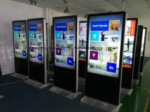 46 Inch Indoor Floor Standing LCD Advertising Board pictures & photos