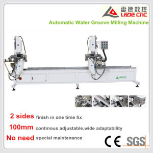 UPVC Door Machine Window Machine Automatic Water Groove Milling Machine pictures & photos