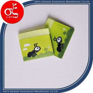 High Density Wash Children Woven Label for Clothing Label pictures & photos