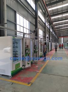 Double Cabinets Vending Machine with Conveyor Belt for Cold Drink & Snack 10L+10rss (32sp) pictures & photos