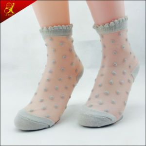 Silk Ankle Socks New Design Women pictures & photos