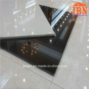 White & Black Floor Polished Tile Nano Porcelanato (J6T00, J6T05S) pictures & photos