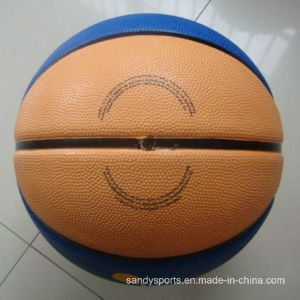 Made in China Good Quality Custom Logo Rubber Basketball pictures & photos