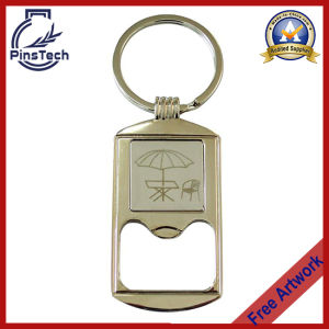 Beer Opener Keychain, No MOQ Custom Metal Keychain