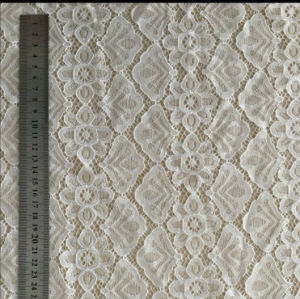 White Lace Fabric with Oeko-Tex Standard 100 Certification pictures & photos