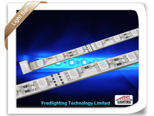 0.5m Non Waterproof RGB IP20 SMD5050 Rigid LED Strips