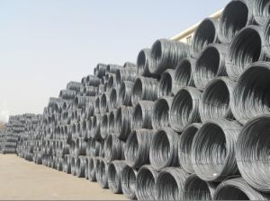 Gbq195, Q215, Q235, SAE1006, 1006b Hot Rolled Steel Wire Rod pictures & photos