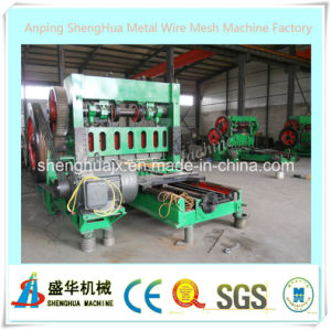 Expanded Plate Mesh Machine Sh25-6.3 pictures & photos