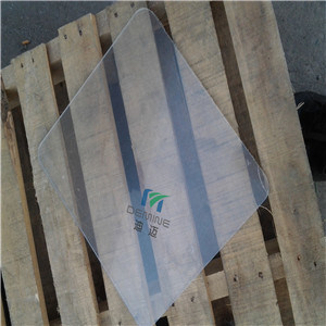 Optical Polycarbonate Sheet Transparancy Approx 91% for Top Light