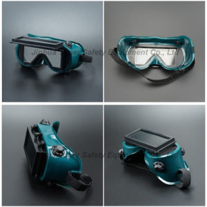 Welding Goggle with Rectangle Lens Welding Glass (WG114) pictures & photos