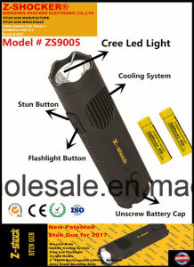 Zs9005 Stun Gun with CREE T6 LED Light pictures & photos