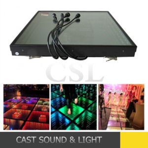 Disco Party Mirror Abyss Effect DMX 3D LED Dance Floor pictures & photos