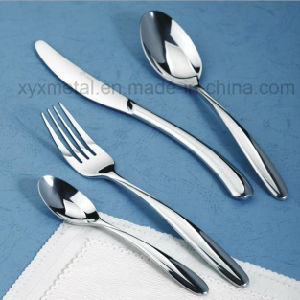Printing Customized Logo Hotel Flatware Cutlery Set pictures & photos