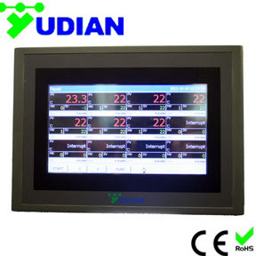 12-Channel Touch Screen Paperless Recorder (AI-3170S-12)