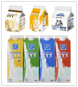 1000ml Gable Top Carton for Fresh Milk pictures & photos
