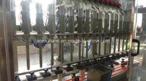 Automatic Dirving Garvity Liquid Filling Machine pictures & photos
