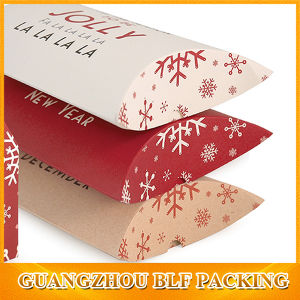 Cheap Paper Gift Pillow Boxes pictures & photos
