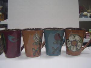 Ceramic Glazed Mug with Different Glazing pictures & photos