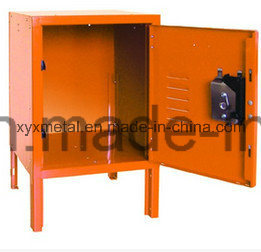 American Lock Metal Single Door Small Kids Toy Storage Cabinet pictures & photos