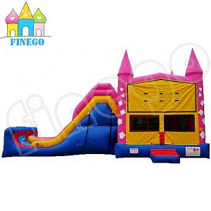 Commercial Inflatable Slide Castle Combo Bouncy Castle Slide for Kids pictures & photos