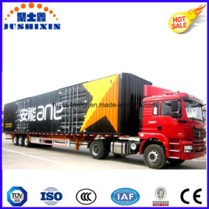 Economic 3 Axles Van/Box/Cargo Logistic Truck Semi Utility Trailer pictures & photos