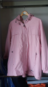 PVC/Polyester Workwear Rain Coat Women Raincoat pictures & photos
