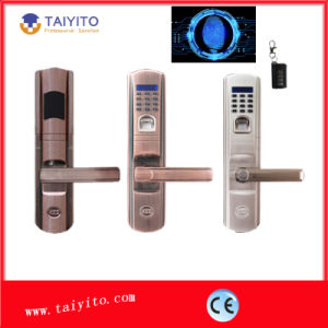 Outdoor Biometric Fingerprint Door Lock for a Building