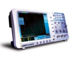 "Owon 100MHz Oscilloscope SDS7102 1g/S Large 8"" LCD LAN VGA"