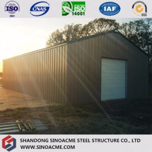 Prefabricated Light Steel Construction Warehouse for Mini Barn pictures & photos