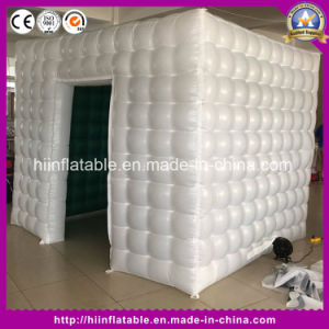 Promotional New LED Inflatable Square Photo Booth Shell for Sale