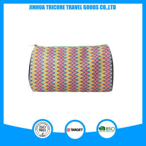 Popular and Fashion Stripe Water Droplets Shape Cosmetic Bag pictures & photos