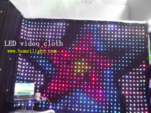 Flexible LED Video Cloth Curtain Backdrop pictures & photos