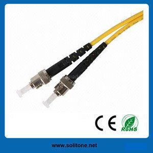 St Single Mode Duplex Fiber Optic Patch Cord pictures & photos
