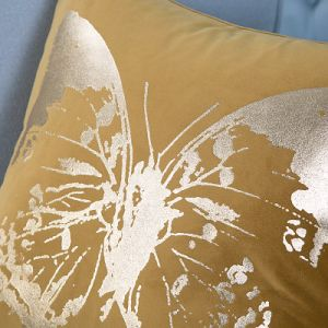 Foil/Gold&Silver Printed Decorative Cushion/Pillow (MX-54) pictures & photos
