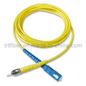 Singlemode SC-FC Fiber Optic Patch Cord pictures & photos