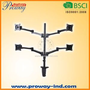 Quad Monitor Arm Stand Suitable for 13′′-27′′ pictures & photos