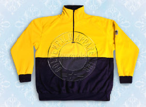Men′s Nylon Yellow Sweat Shirt Half Zipper Safety Wear pictures & photos