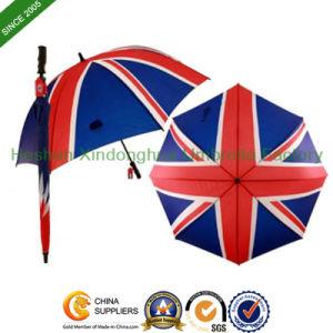"27"" Large England Flag Printed Golf Umbrella (GOL-0027F) pictures & photos"