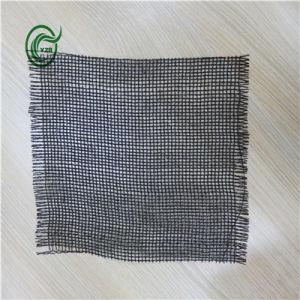 Sb3210 Woven Fabric PP Secondary Backing for Carpet (Black)
