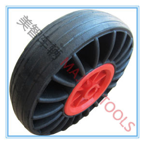 10 Inch Solid Rubber Wheel, Black Rubber Wheel pictures & photos