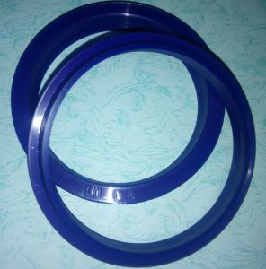 Blue and Sand Surface Hydraulic Oil Seal, PU Oil Seal, Un Oil Seal, Uns Oil Seal Made with 90shore a Polyurethane Material pictures & photos