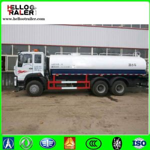 Sinotruk HOWO 20000L 6X4 Heavy Duty Fuel Oil Tanker Truck pictures & photos