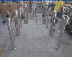 Super Market Automatic Swing Turnstile pictures & photos