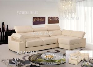 L Shape Leather Sofa (858) pictures & photos