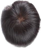 100% Human Hair / Lace & Injected Toupee / Natural Hair Crown pictures & photos