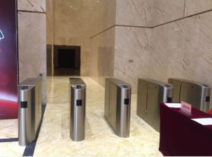 Metro Fast Speed Flap Barrier Turnstile pictures & photos