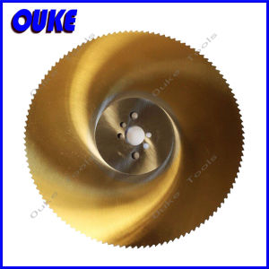 Tin Coated Metal Cutting HSS Slitting Saw Blade pictures & photos