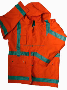Reflection Safety Raincoat